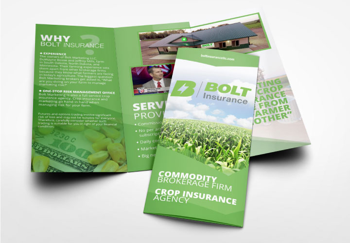 custom print products full color brochures